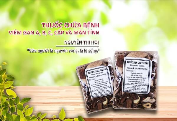 Thuoc viem gan B của nhà thuốc Nguyễn Thị Hội
